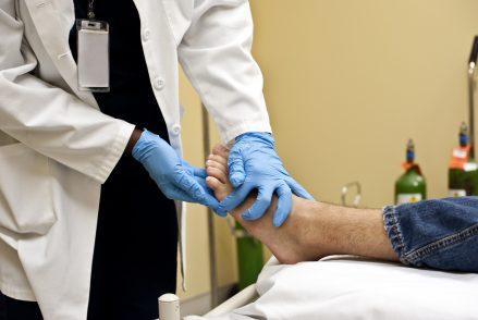 Diabetische Fußulzera